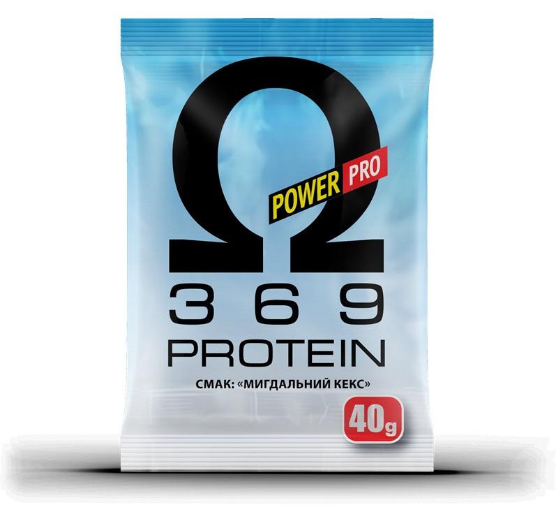 Power Pro Protein Оmega 3 6 9, 40 г