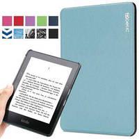 Обложка чехол для Amazon Kindle Voyage Poetic Slimline Slim Sky Blue