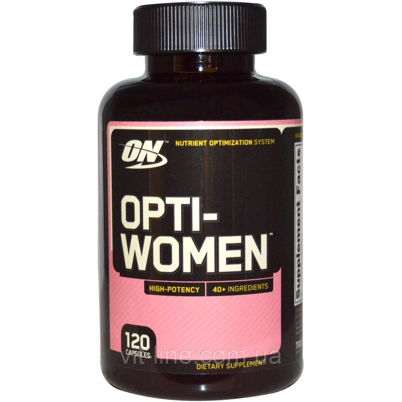 Optimum Nutrition, Opti-Women, 120 капсул