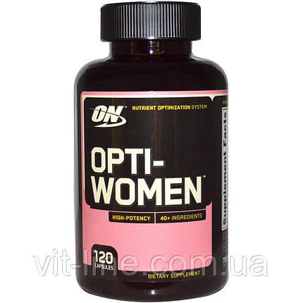 Optimum Nutrition, Opti-Women, 120 капсул, фото 2