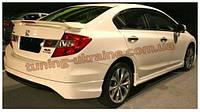 Козырек на заднее стекло под покраску на Honda Civic 9 2011-2015