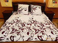 Комплект постельного белья из бязи Gold, фиолетовая мечта двуспальное
