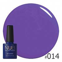 Насыщенно-фиолетовый гель-лак NUB Violet Harmon 014