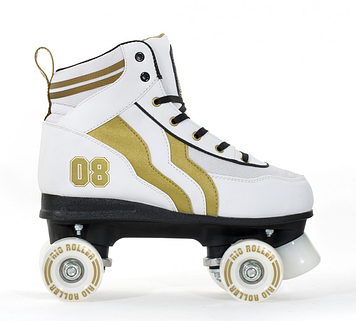 Роликовые коньки Rio Roller Varsity белый-золото