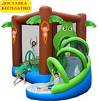"""Детский надувной батут для дома """"Веселые джунгли"""""""