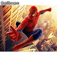 """Картина для рисования камнями Алмазная вышивка """"Спайдермен - человек паук""""№2, фото 1"""