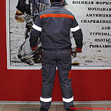 Костюм рабочий серый комбинезон, фото 4