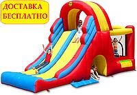 """Надувной батут Happy Hop """"Мега-горка"""" (надувной игровой центр)"""