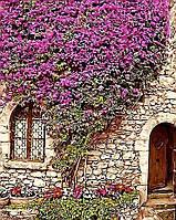Картина раскраска по номерам без коробки Коттедж в Провансе (BK-GX4476) 40 х 50 см