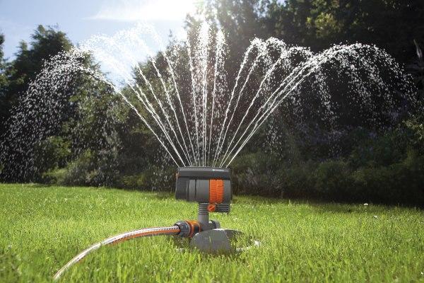 Gardena ZoomMaxx веерный дождеватель
