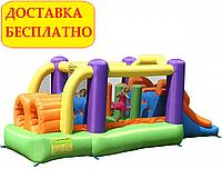 Надувной батут «Полоса препятствий» Happy Hop(560х255х190 см). Детский коммерческий.