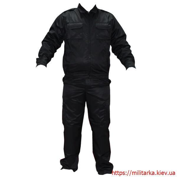 Форма тактическая полиции черная