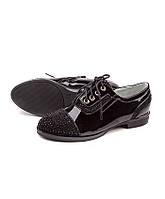 Осенняя подростковая обувь.Туфли для девочек от фирмы Леопард HA13-1 (6пар,32-37)