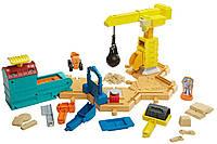 Fisher-Price Стройплощадка Боб Строитель c кинетическим песком Bob the Builder Mash & Mold Construction Site
