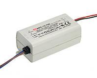 Блок питания Mean Well APC-12-700 Драйвер для светодиодов (LED) 12.6 Вт, 9~18 В, 700 мА (AC/DC Преобразователь)