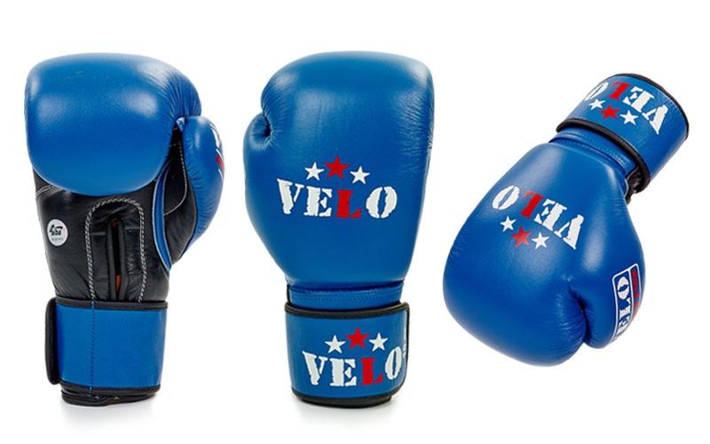 Перчатки боксерские профессиональные AIBA VELO кожа - ADX.IN.UA в Одессе