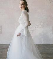 Свадебный комплект белого цвета