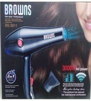 Фен для волос мощный Browns BS-5808