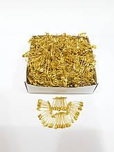Шпильки 2 см (колір золото)