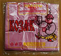 """Пакет майка """"Козак"""" 22*36 100шт/уп"""
