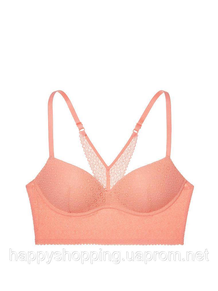 Оранжевый бралетт  с push-up Victoria's Secret
