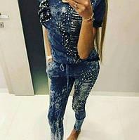 Ультра модный женский костюм с бусами Турция  мил107