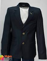 Школьный пиджак для мальчика Lilus модель 218, цвет темно-синий