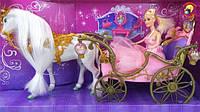 Карети, коні, транспорт для ляльок