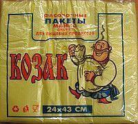 """Пакет майка """"Козак"""" 24*43  100шт/уп"""