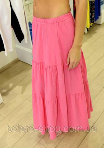 Женская юбка летняя длинная Италия Kontato, фото 2