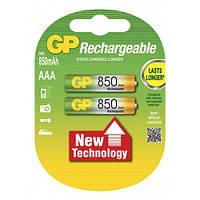 Аккумулятор GP 85АААНС-U2 NI-MH AAA R03 850mAh 2шт на блистере