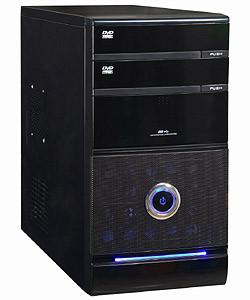 Компьютерный корпус GOLDEN FIELD 3205B, MidiTOWER ATX P460W