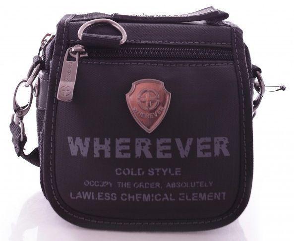Мужская сумка через плечо Wherever 816 черный