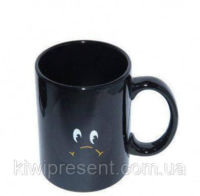 Чашка (кружка) хамелеон «Смайл», фото 2