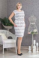 Легкое летнее платье р.48-52 V298-01