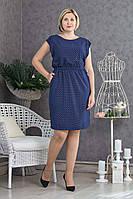 Легкое летнее платье р.48-52 V298-03
