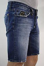 Мужские джинсовые шорты philipp plein 31, фото 2