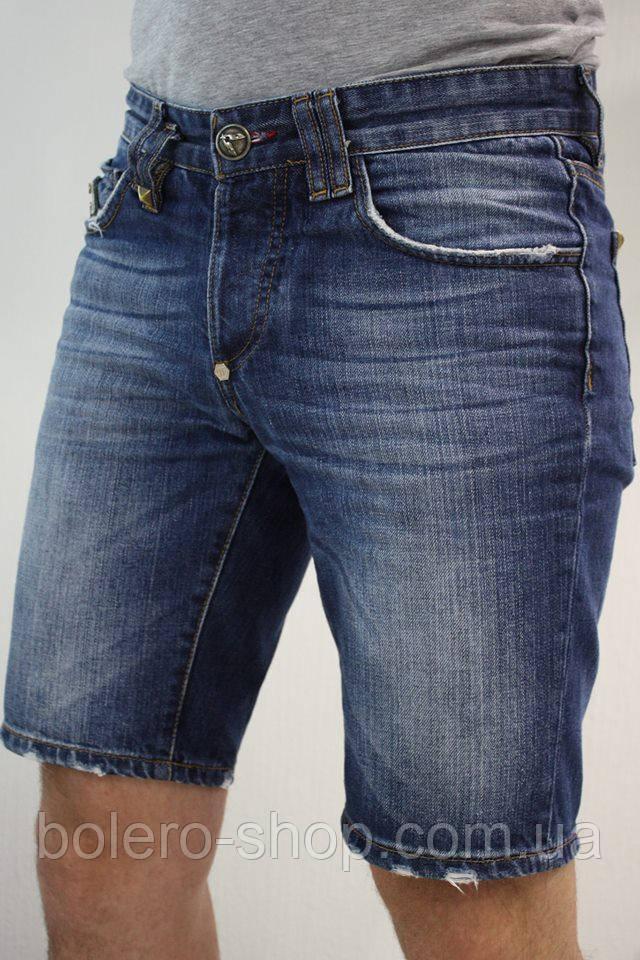 Мужские джинсовые шорты philipp plein 31
