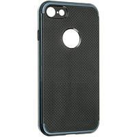 Противоударный комбинированный чехол-накладка IPAKY для Iphone 7 и Iphone 8 синий, фото 1
