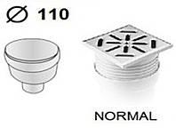 Трап прямой ( 150мм x 150мм) Ø110