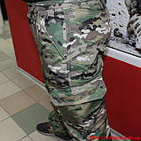 Демисезонный костюм Камо- Тек Multicam на флисе, фото 3