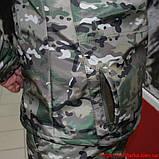 Демисезонный костюм Камо- Тек Multicam на флисе, фото 5
