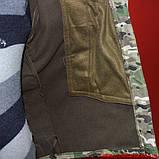Демисезонный костюм Камо- Тек Multicam на флисе, фото 6