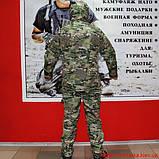 Демисезонный костюм Камо- Тек Multicam на флисе, фото 7