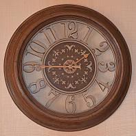 Красивые настенные часы (56х56х6 см.)