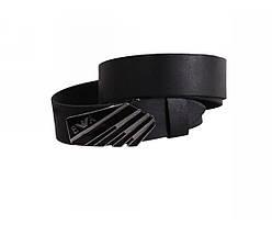 Мужской кожаный ремень черный NAVI 49104, фото 3