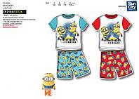 Пижамы на мальчика с Миньйонами лето