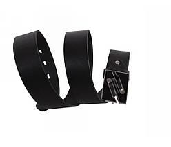 Мужской кожаный ремень черный NAVI 49105, фото 3