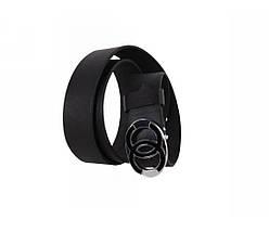 Мужской кожаный ремень черный NAVI 49108, фото 3