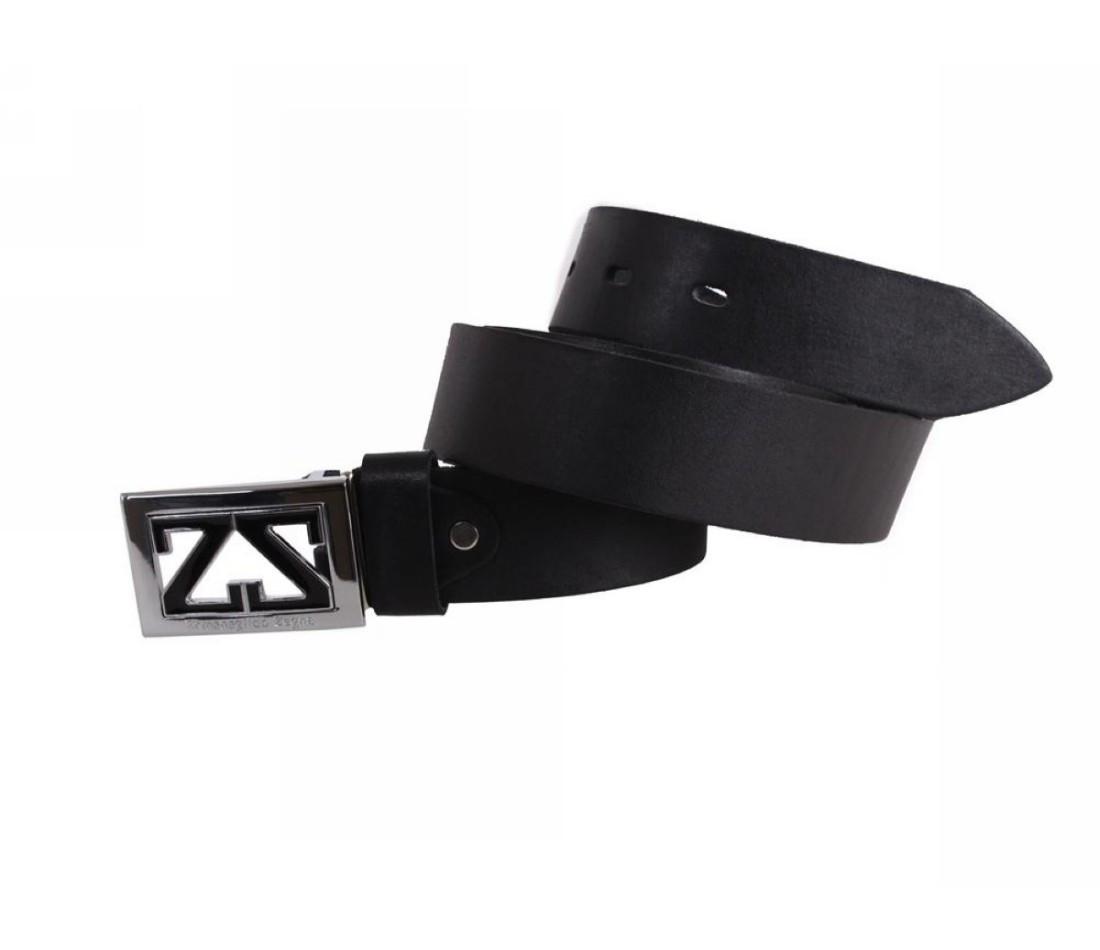 Мужской кожаный ремень черный NAVI 49111